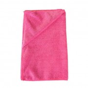 Twotags Microfibre Zip Pocket Small Towel Hot Pink