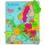 Puzzle incastru Europa, 25 piese