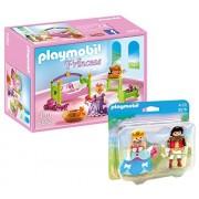Playmobil Set: 6852 Princesse Baby-Bedroom + 9215 Couple