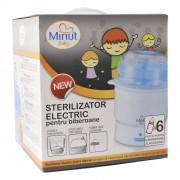 Sterilizator electric 6 biberoane si accesorii, Minut Baby