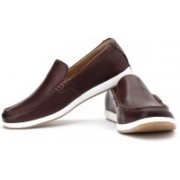 Clarks Newton Drive Loafers(Brown)