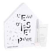 Issey Miyake L´Eau D´Issey Pure confezione regalo Eau de Parfum 50 ml + lozione per il corpo 100 ml donna
