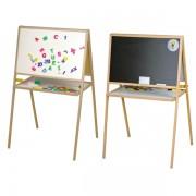 Tablita magnetica, cu suport si accesorii, pentru copii, 106 cm