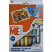 Red castle minions 2' colora con sabbia 2in1 rcds27