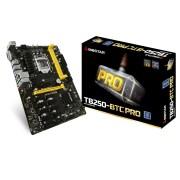Tarjeta Madre Biostar TB250 BTC PRO, socket 1151 / 2DDR4 / 32GB / M.2 / DVI / SATA PCIE 3.0