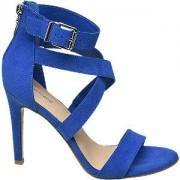 Graceland Blauwe sandalette Graceland maat 37