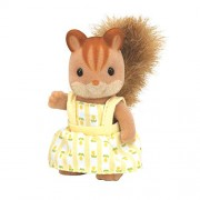 Girl of Sylvanian Families doll walnut walnut squirrel squirrel family (japan import)