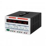 Laboratorní napájecí zdroj - 2 x 0-30 V/0-3 A DC - 1 x 5 V/3 A - 180 W
