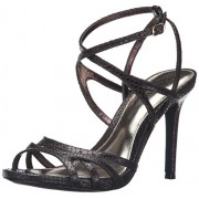 Lauren Ralph Lauren Women's Talulla Dress Sandal, Oxidized Brown Snake, 11 B US