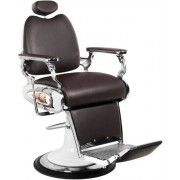 Mega Beauty Shop® Barbierstoel Barbierstoel bruin Bruin - barbier