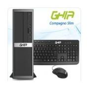 GHIA COMPAGNO SLIM / INTEL PENTIUM G4400 DUAL CORE 3.30 GHZ / 4 GB / 1 TB / SFF-N / SIN SISTEMA