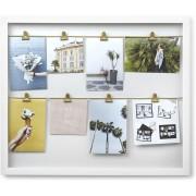 Колаж за снимки UMBRA CLIPLINE - цвят бял