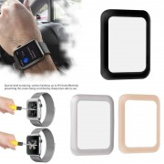 2018 For iWatch Screen Protector Film Full Cover 3D Curved Soft Edge Tempered Glass For Apple Watch 42mm 38mm Series 3 2 1
