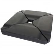 Schirmständer HWC-A40, Ampelschirmständer Marktschirmständer für Bodenkreuz ~ Variantenangebot