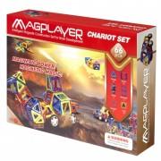 Set de constructie magnetic 66 piese Magplayer