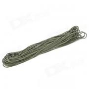 Outdoor Siete hilos de dos capas Cordon de paracaidas / cuerda de salvamento para camping / escalada - verde (31m)