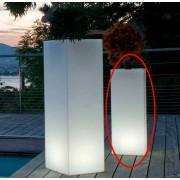 Smart & Green Mambo lysande LED-kruka i 3 stl, trådlös (Produkt: Endast fjärrkontrollen Pebble 2)