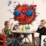 samolepka na stenu 3D Spiderman (AL)