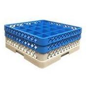 Socepi Kit cestello portabicchieri per lavastoviglie base 6x6 - composizione TOP + 1 Intermedio
