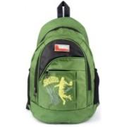 Unity Bags Multi Pocket School Bag |Casual Bag | Shoulder Backpacks for Girls & Boys 35 L Backpack(Green, Black)