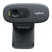Logitech Webcam USB 2.0 3 MPixel 720P Zwart