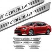 Soleira de Aço Inox Toyota Corolla