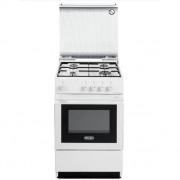 DeLonghi Sgw 554 N Cucina 50x50 4 Fuochi A Gas Forno A Gas Colore Bianco