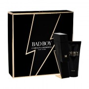 Carolina Herrera Bad Boy darovni set toaletna voda 100 ml + gel za tuširanje 100 ml za muškarce