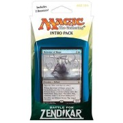 Magic The Gathering: Mtg Battle For Zendikar: Intro Pack / Theme Deck: Drowner Of Hope (Includes 2 Booster Packs & Alternate Art Premium Rare Promo) Blue