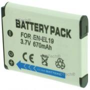 Batterie pour NIKON COOLPIX S3300 - Garantie 1 an