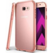 Husa Ringke Fusion Samsung Galaxy A7 2017 A720 Rose gold + BONUS folie protectie display Ringke