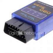 Mini ELM327 V1.5 Bluetooth ELM 327 OBDII OBD2 protocollen Auto Diagnostic Tool