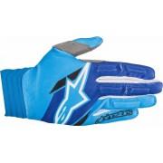 Alpinestars Aviator Gloves 2018 White Blue 2XL