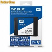 """Western Digital WDS250G2B0A 250GB Blue 3D SATA3 2.5"""" SSD Merevlemez (3 év garancia)"""