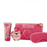 Moschino Pink Bouquet Eau De Toilette + Body Lotion + Pochette 50 ML