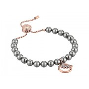 Michael Kors Modern Classic Pearl Slider Bracelet Rose GoldGrey