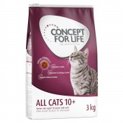 Concept for Life All Cats 10+ - Gazdaságos csomag 3 x 3 kg