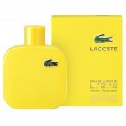 Eau De Lacoste L.12.12 Yellow (Jaune) EDT 100 Ml Caballero ORIGINAL