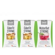 Sensilab Pure & Slim Paket Auf traditionellem Weg zu einer schlankeren Linie CiderFit Strong: 2x 10 Beutel, WaterOut Strong: 10 Beutel Sensilab