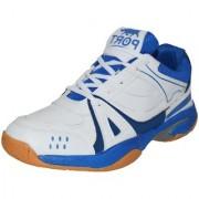 Port Unisex Activa White Badminton Sports Shoes