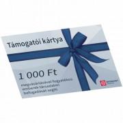 Értékpont támogatói kártya 1000 Ft értékben