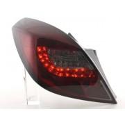 FK-Automotive fanali posteriori LED Opel Corsa D 3 porte anno di costr. 06-10, rosso/nero