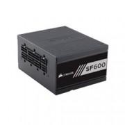 Захранване Corsair SF Series SF600 CP-9020105-EU, 600W, Active PFC, 80+ Gold, изцяло модулно, 120mm вентилатор