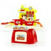 Juguetes De Mesa De Cocina 360DSC - Rojo