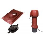 Vilpe 1001 tetőventilátor szett páraelszívókhoz - vörös