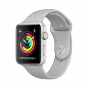 Apple Watch Series 3 con correa plata 38 mm MQKU2QL