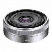 Sony 16mm F2.8 Obiectiv Sony E argintiu
