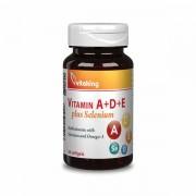 Vitamin A+D+E plus Selenium (30 kap.)
