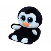 TY Peluche Pinguin with Glitter eyes Soporte para teléfono Penni 15cm