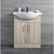 Hudson Reed Meuble-lavabo 65x78x45cm Classic Oak